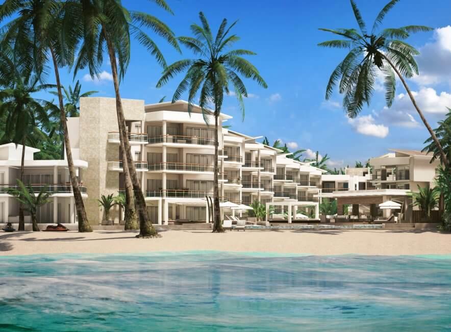 Люксовые апартаменты Playa Coral на первой линии у моря в Пунта-Кане (Доминиканская республика)