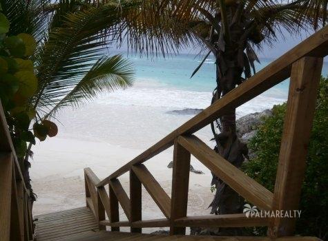 Бунгало в Доминикане с собственным пляжем в резиденции (Калетон, Кап Кана)
