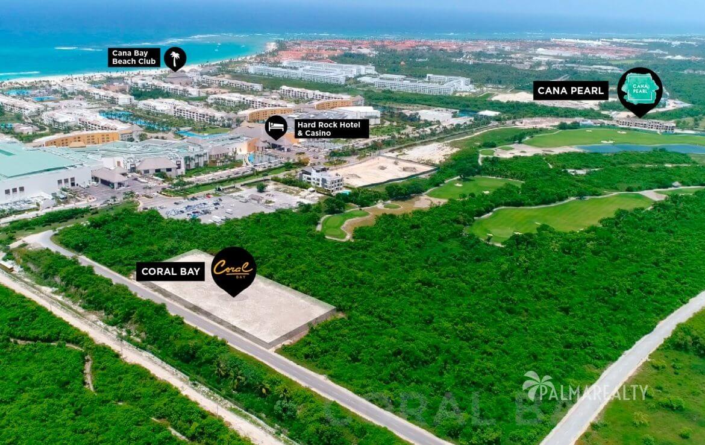 Расположение Coral Bay