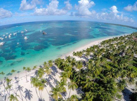 на этом месте завершается строительство Playa Coral