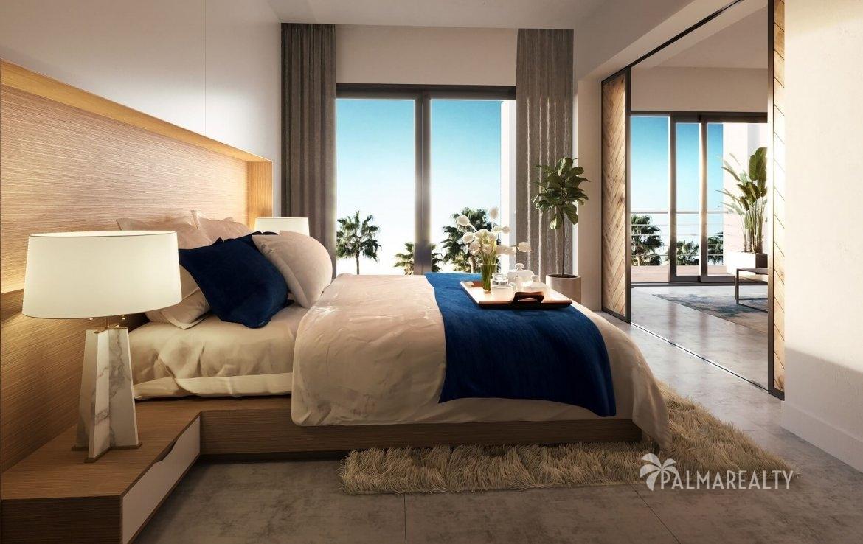 Спальня в Paseo Playa Coral — (4,4 х 3) м²