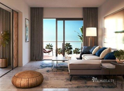 Гостиная в Paseo Playa Coral — (4,2 х 3,4) м²