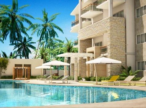 Внутренний двор в Paseo Playa Coral