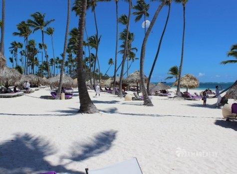 Пляж в Paradisus Palma Real