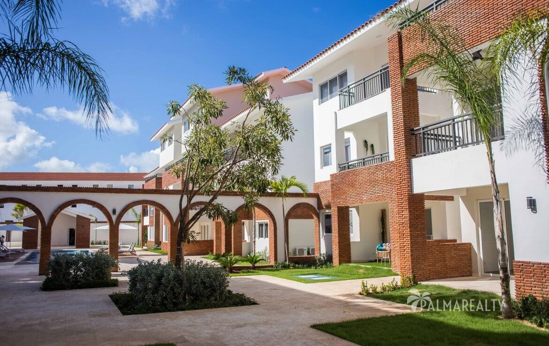 Внутренний двор в Coral Village II