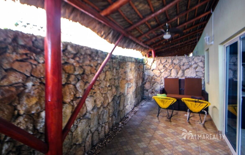 Патио-зона на 1 этаже