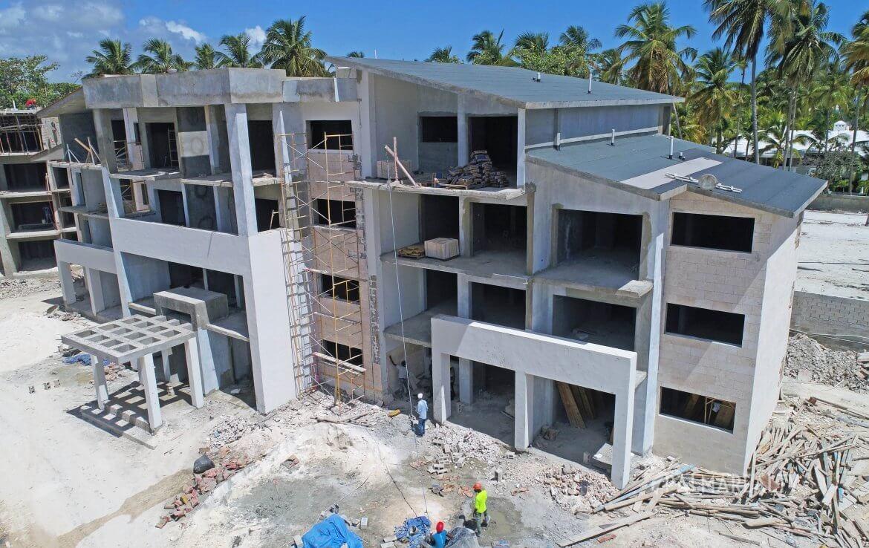 Статус строительства Paseo Playa Coral на июль 2019
